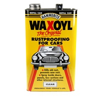 Hammerite Waxoyl Rust Proofing Car 5L Refill Black