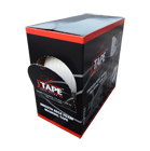 Jtape Smooth Edge Foam Masking Tape Box 13mm x 50m by JTAPE
